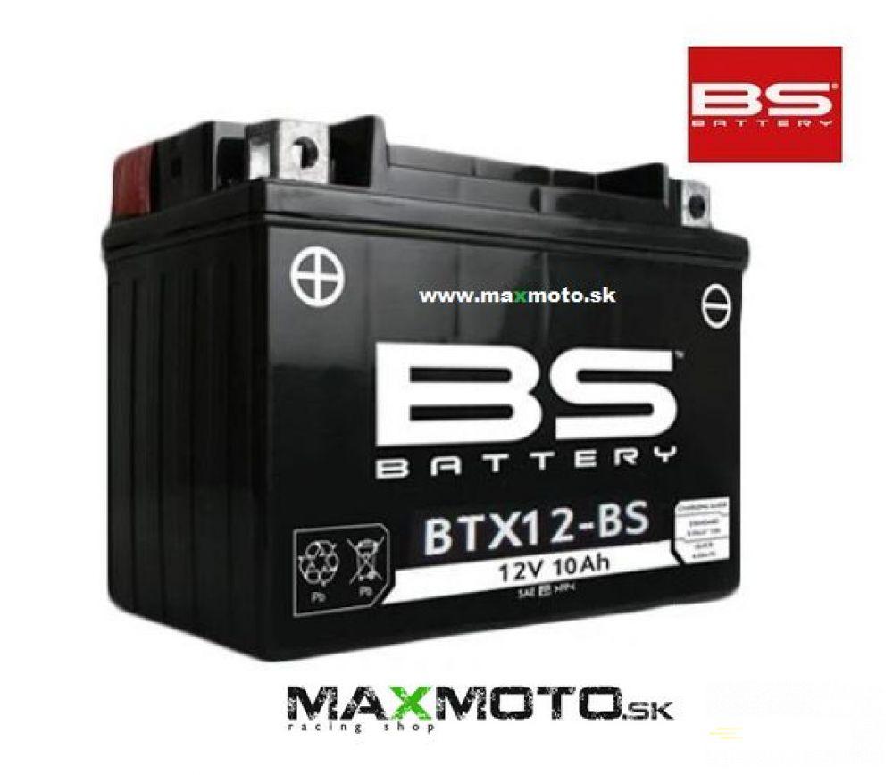 Batéria BS BTX12-BS 12V, 10AH, 152x88x131