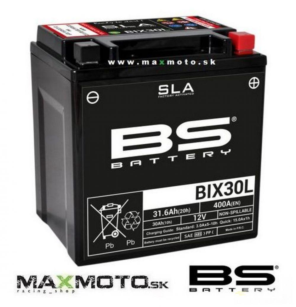 Batéria BS BIX30L 12V 30Ah, 166x126x173, gélová