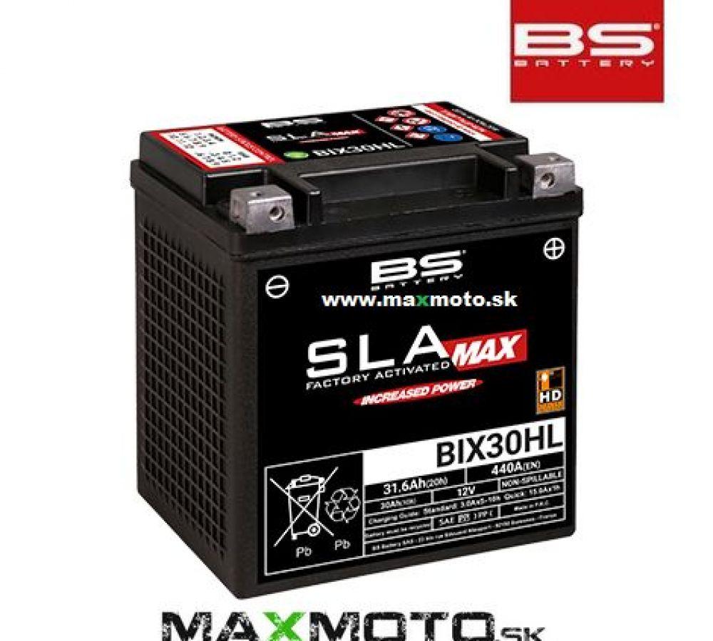Batéria BS BIX30HL MAX 12V 30Ah, 169x131x175, gélová