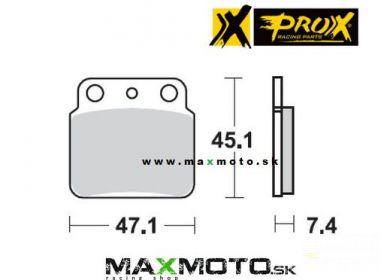 Brzdové obloženie ARCTIC CAT DVX 400, KAWASAKI KSF, KFX400, zadné