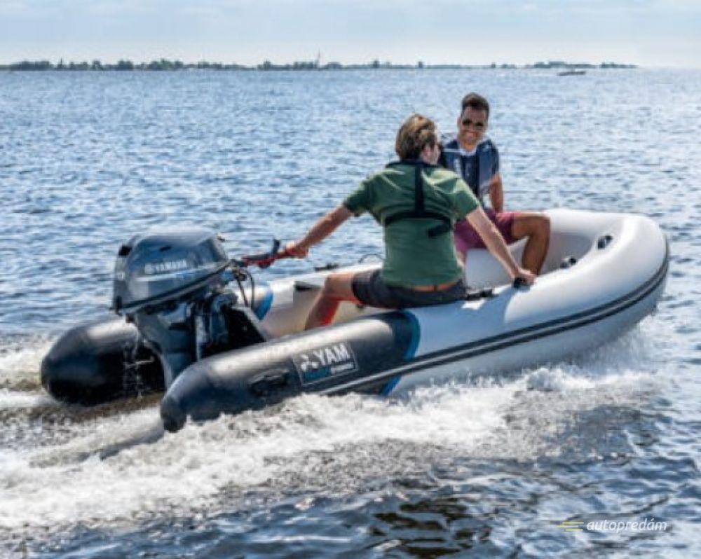 YAM 380 S nafukovací čln s hliníkovou podlahou